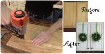 How To Update Kitchen Cabinet Doors Diy Updated Kitchen Cabinetry A Real Investment Homes