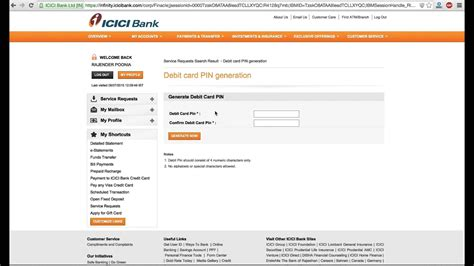 icici bank net banking login infinity icici credit card statement view infinity infocard co