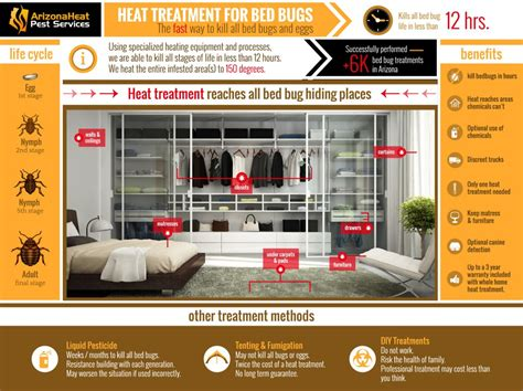 bed bug heat treatment   bed bug extermination
