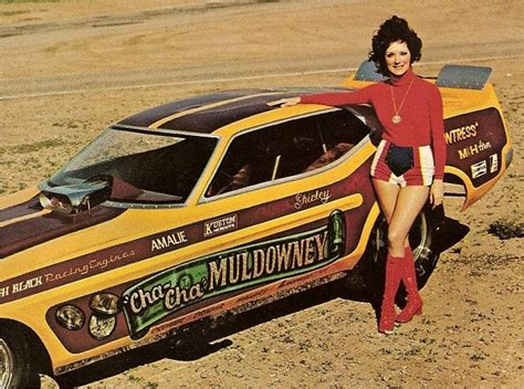 Cha Cha Gil Top shirley muldowney car drag racing
