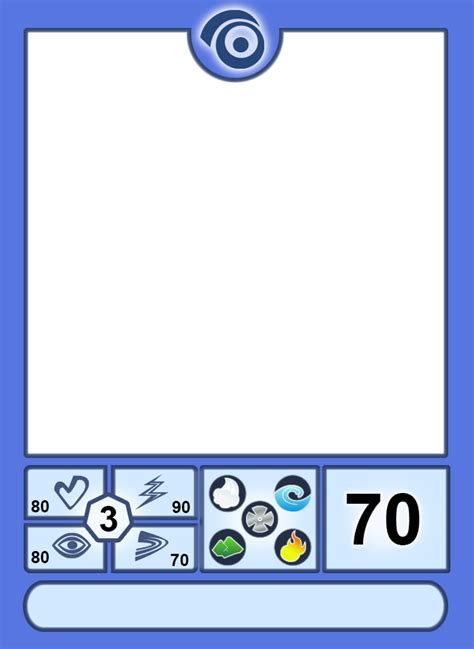 deviantart card template chaotic overworld tv style card template by king of