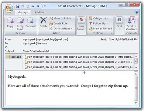 Outlook Search For Emails With Attachments Save Attachments At Once In Outlook 2007