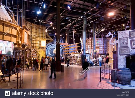 big room studios interior in the big room at the harry potter world warner bros stock photo royalty free