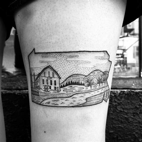 pennsylvania tattoo pennsylvania by anka lavriv tattoos
