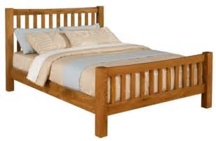 Wooden King Bed Frames Denver 5ft King Size American Oak Wooden Bed Frame