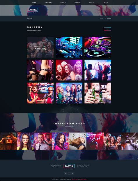 themeforest jarvis jarvis night club concert festival wp theme by