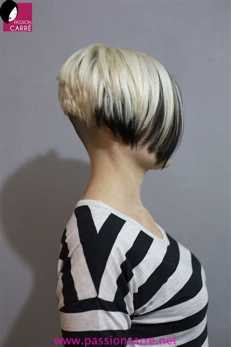 short high bob inverted bob with shaved nape short hairstyle 2013