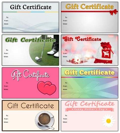 chiropractic gift certificate template 25 unique free gift certificate template ideas on
