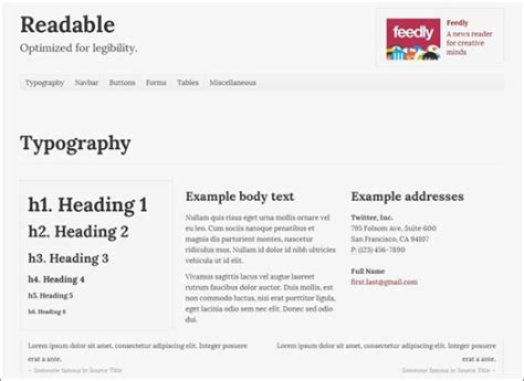 30 useful responsive bootstrap templates