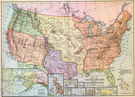 original texas map westward expansion
