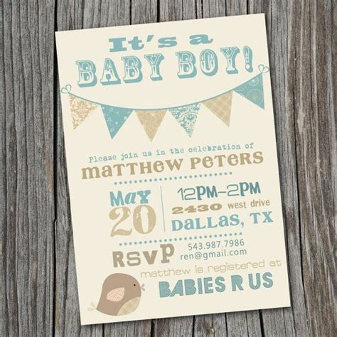 Vintage Invitations Baby Shower by Its A Boy Vintage Baby Shower Invitation Printable