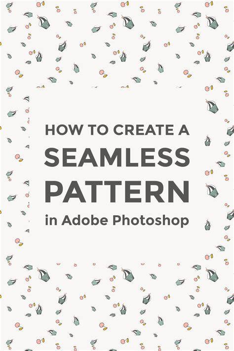 pattern seamless photoshop make a seamless pattern in photoshop