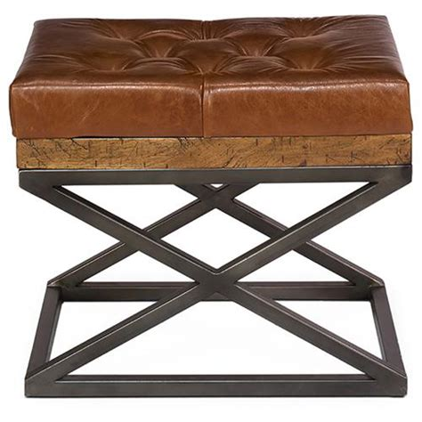 thomas bench thomas modern classic brown leather cushion bench kathy kuo home