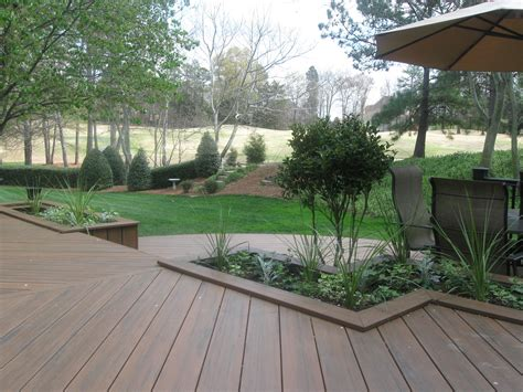 Planters On Deck by 5 Ways To Add Plants To Your Deck Design St Louis Decks