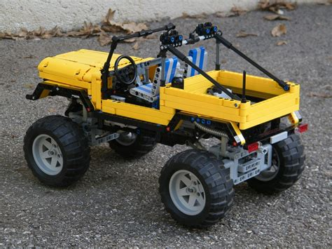 Lego Technic Jeep Trial Jeep Lego Technic Mindstorms Model Team