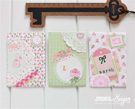 Handmade Envelope Designs - handmade envelopes a spoonful of sugar