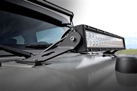 Rough Country 20in Mount And Single Row Light Bar 07 13 Country Led Light Bar Mount
