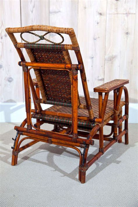 Antique Morris Chair by Antique Rattan Morris Chairs At 1stdibs
