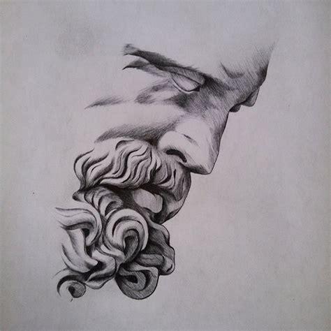 zeus tattoo art drawing on instagram