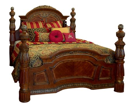 king poster bed grand heavy king size poster bed with marble inlays and