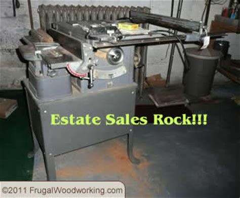 used woodworking tools for sale estate sales frugal woodworking