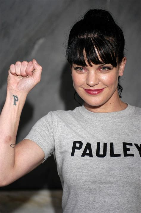 pauley perrette tattoo pauley perrette ncis photo 17707606 fanpop