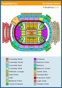 air canada center floor plan air canada centre seating chart pictures directions and