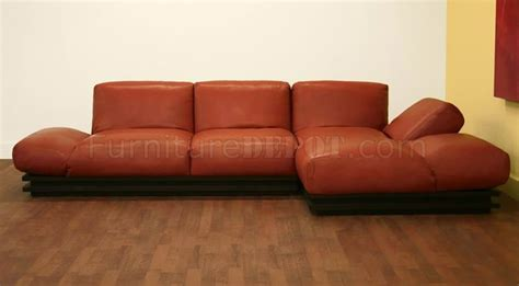 burnt orange leather sectional alf img showing gt burnt orange sectional