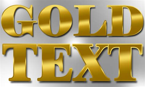 realistic gold gradient photoshop text effect tutorial hd