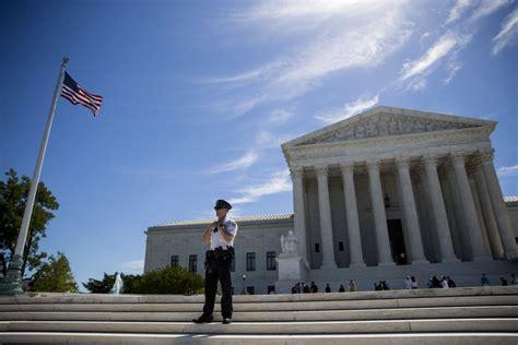 corte suprema usa la sentenza della corte suprema usa e la corsa della