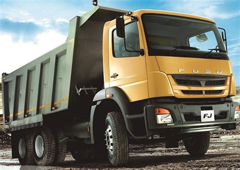 mitsubishi trucks south africa recieves fuso trucks made in india by
