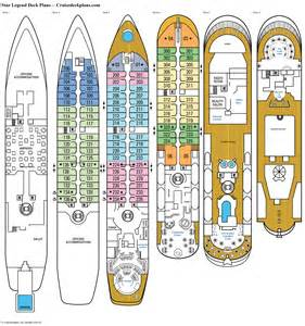 deck plan legend deck plans diagrams pictures