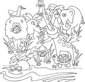 jungle coloring pages our preschool homeschool jungle kittens lighthouse
