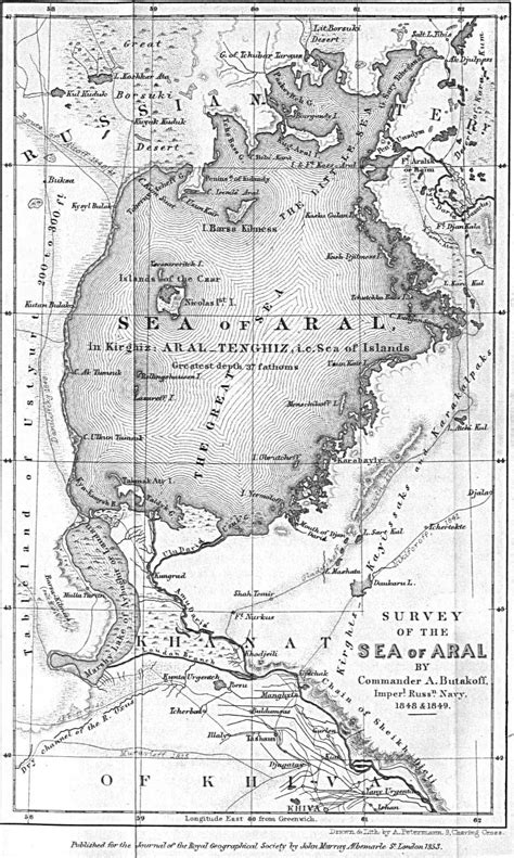 russia map aral sea russia and the former soviet republics historical maps