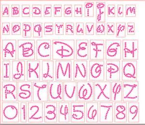disney letter template 12 rhinestone font template images rhinestone templates