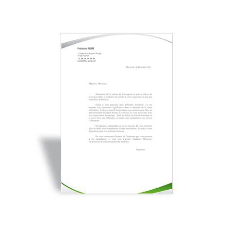 Exemple Lettre De Motivation Candidature Spontanée Originale Lettre De Motivation Assistante De Gestion Vert Cv Word