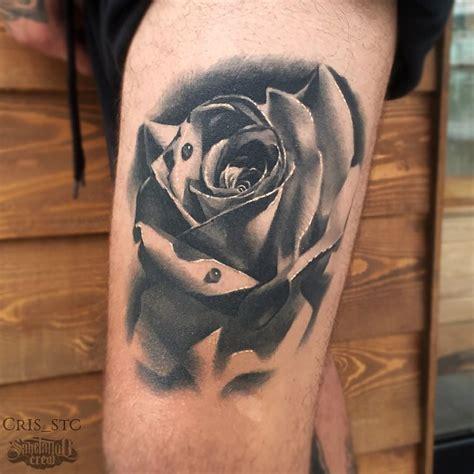 realism rose tattoo realistic from cris sake crew