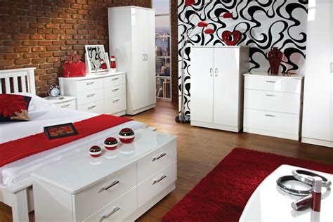 white gloss bedroom furniture aztec white high gloss bedroom furniture home delightful