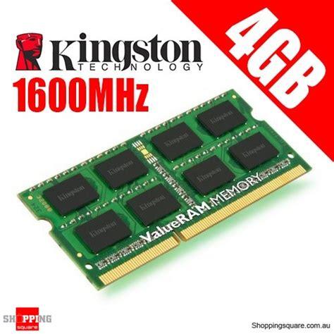kingston kvr16s11s8 4 4gb 1rx8 512m x 64 bit pc3 12800 cl11 204 pin sodimm laptop ram