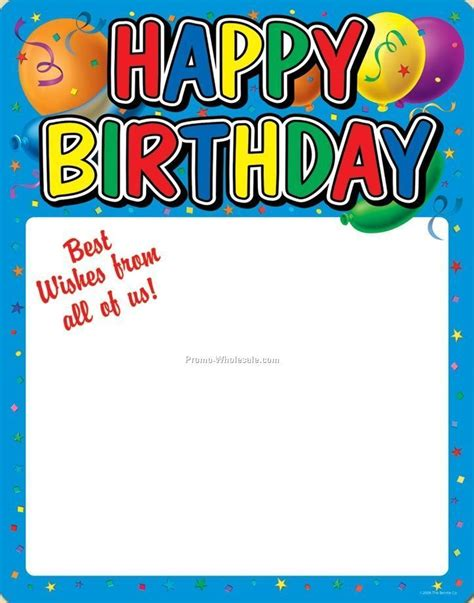 free templates for birthday posters happy birthday posters posters china wholesale posters
