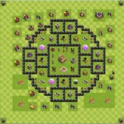 Kumpulan formasi base th 8 terkuat di clash of clans admin 4 5