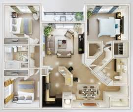 Bedroom 2 bathroom floor plans 3 search thousands of house plans