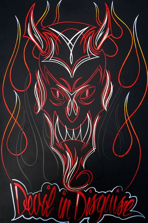 pinstriping tattoo designs easy pinstriping designs pinstripe flames i like the