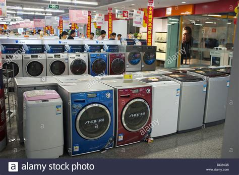 stores that sell kitchen appliances little swan washing machines are on sale in in a gome