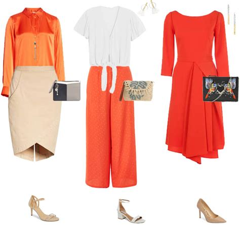 how to set color in clothes how to wear orange 7 color combinations to get you