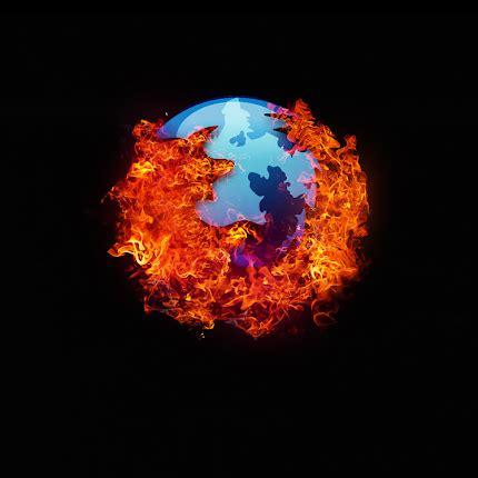 wallpaper api hitam wallpaper logo firefox keren
