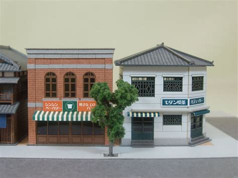 Papercraft Cafe - sankeishop rakuten global market oldie but diorama