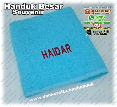 Handuk Bayi Besar by Souvenir Handuk Besar Bordir Nama Harga Murah Souvenir