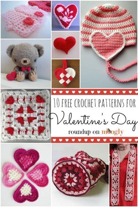 valentines day crochet patterns valentines crochet patterns free beesdiy