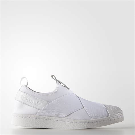 Adidas Superstar Slop White by Zapatillas Originals Superstar Slip On